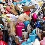 Ladies footwear photography